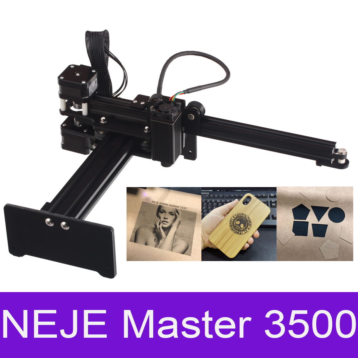NEJE Laser Cutter Machine Affordable Laser Cutter Machine